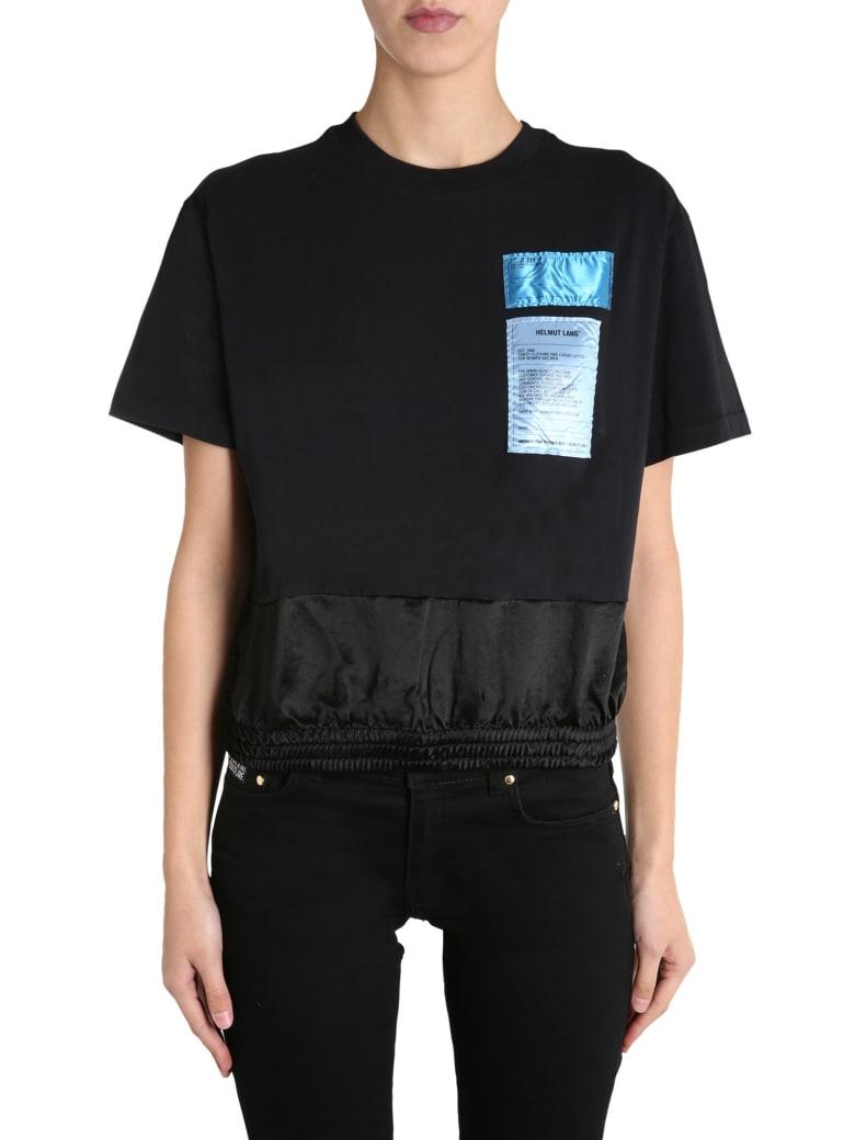Helmut Lang Round Neck T-shirt - NERO