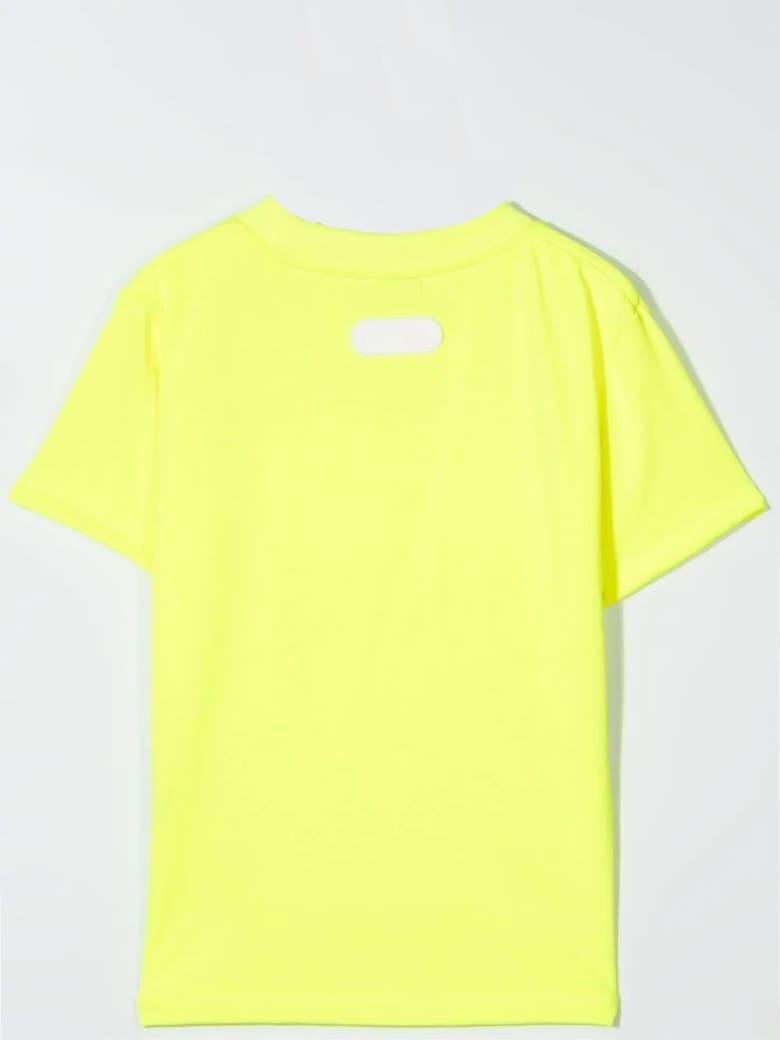 GCDS Mini Print T-shirt - Giallo fluo