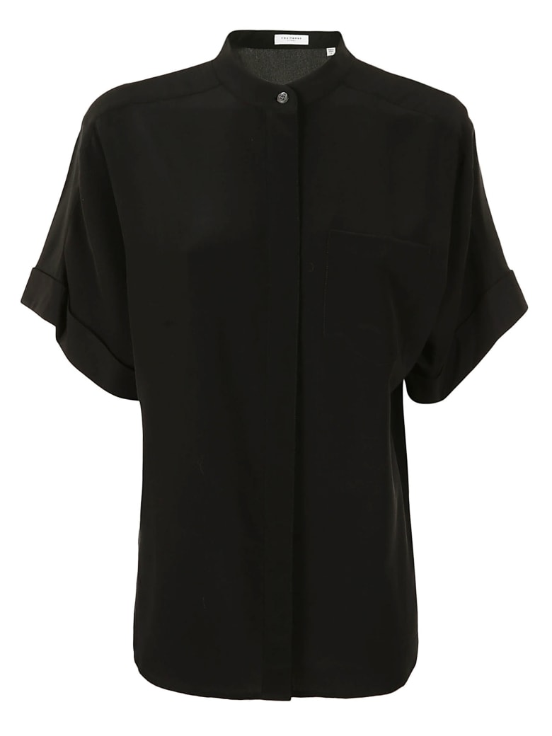 Equipment Alvia Shirt - TRUEBLACK