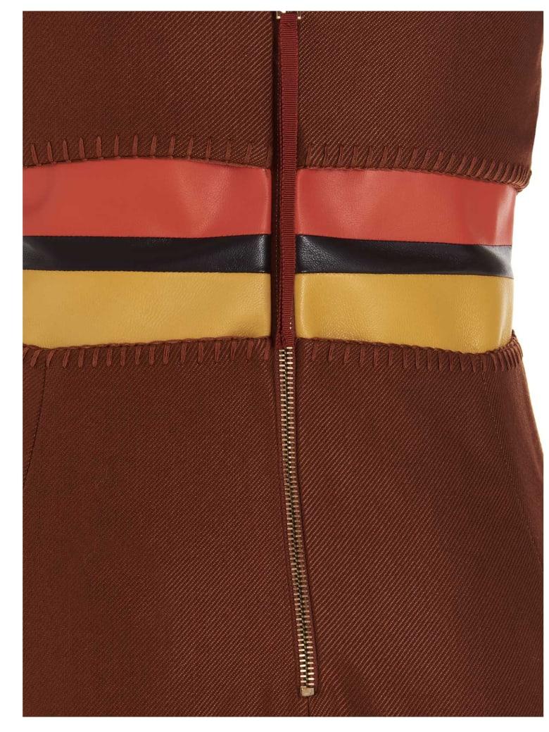 Gabriela Hearst 'hydra' Dress - Brown