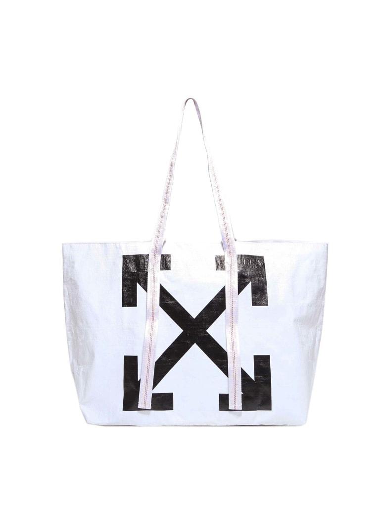 Off-White New Commercial Tote Handbag - White
