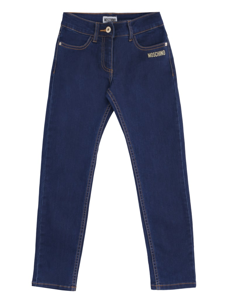 Moschino Teddy Bear Jeans - Denim