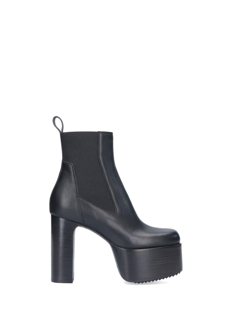 Rick Owens Boots - Black