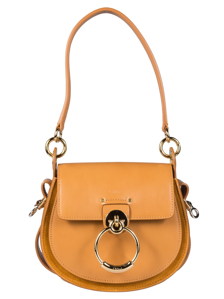 Chloé O-ring Shoulder Bag - Autumnal brown
