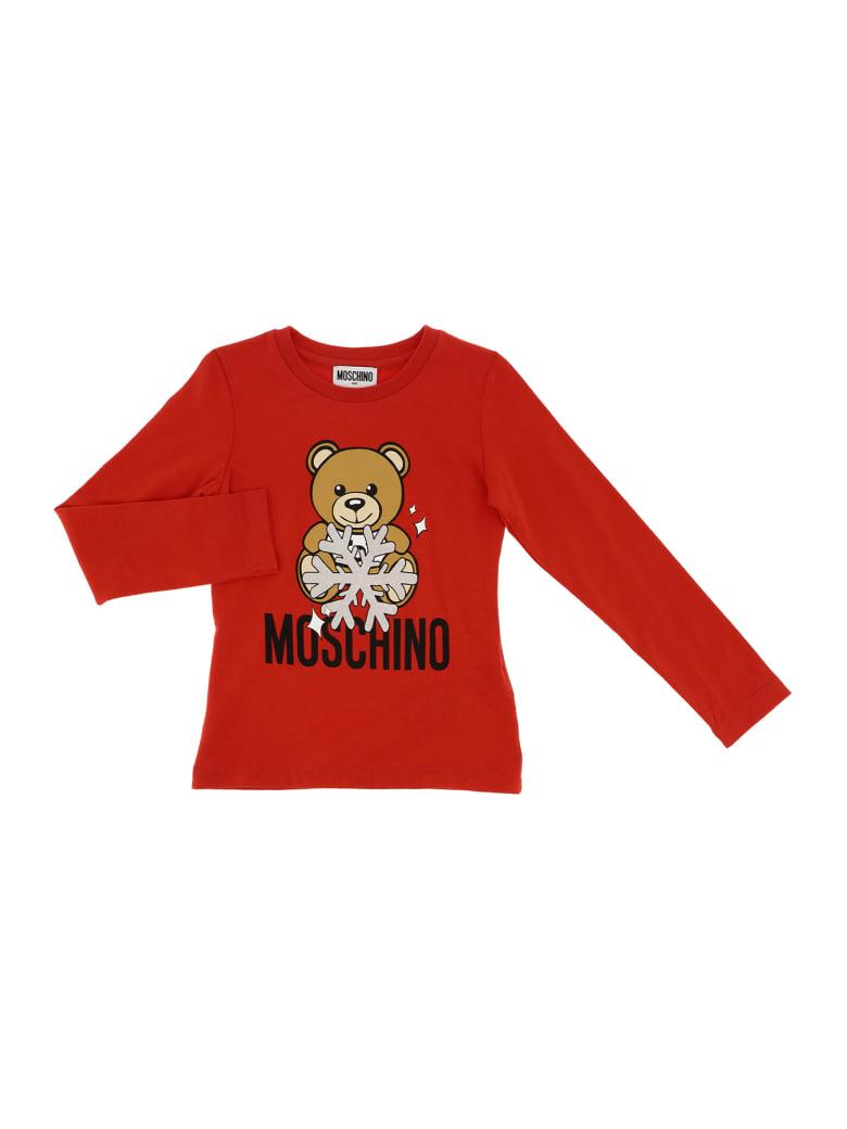 Moschino Tee Moschino Bear - Rosso
