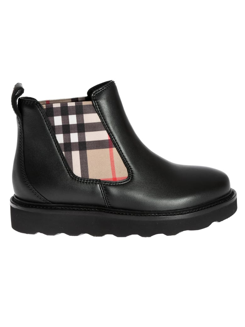 Burberry Haiden Side Checked Boots