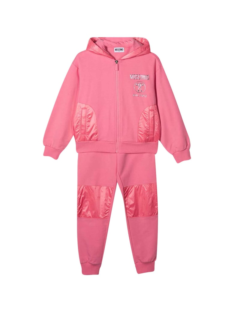 Moschino 2-piece Teen Sports Suit - Rosa
