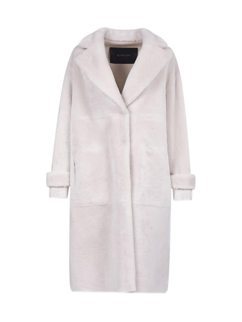 Blancha Coat - Cipria