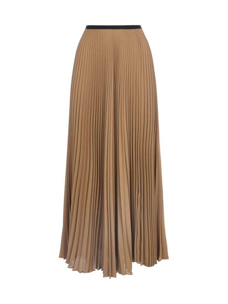 Blanca Vita Griselda Pleated Midi Skirt - Agata