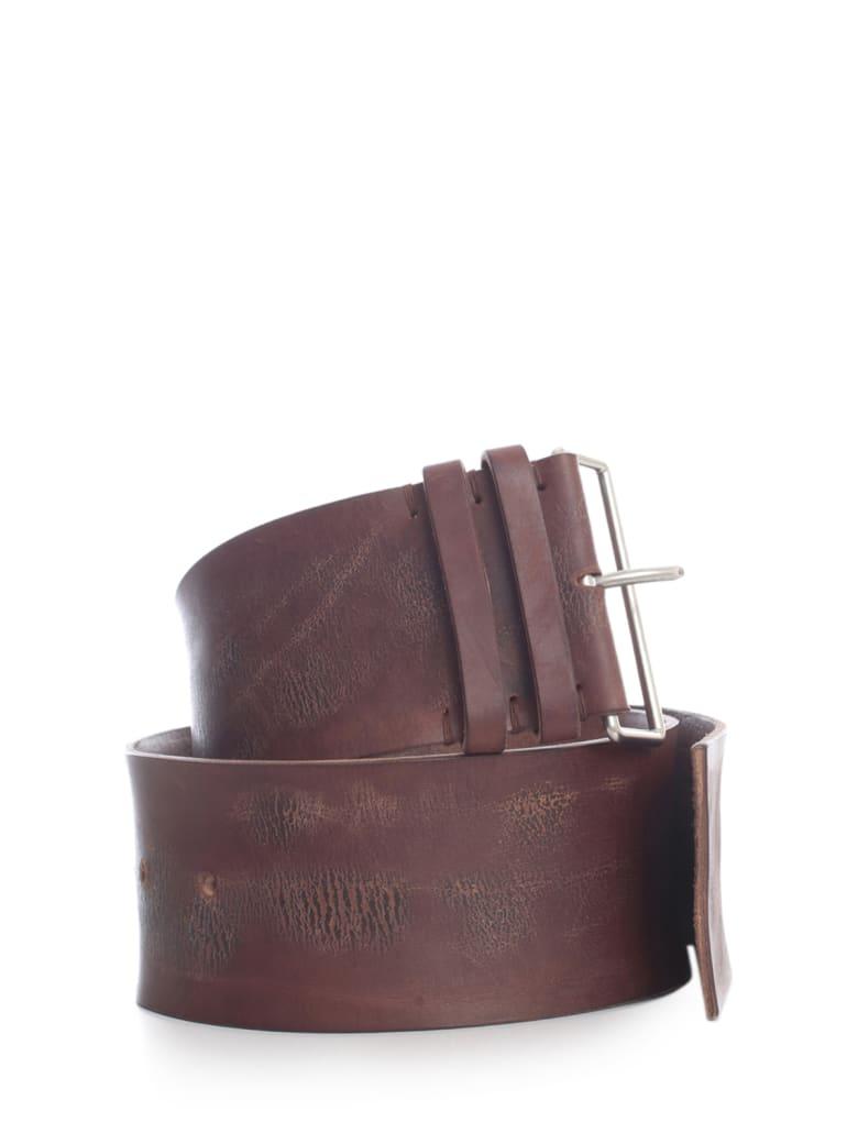 Haider Ackermann 8.5cm Wide Belt - Battalion Brown