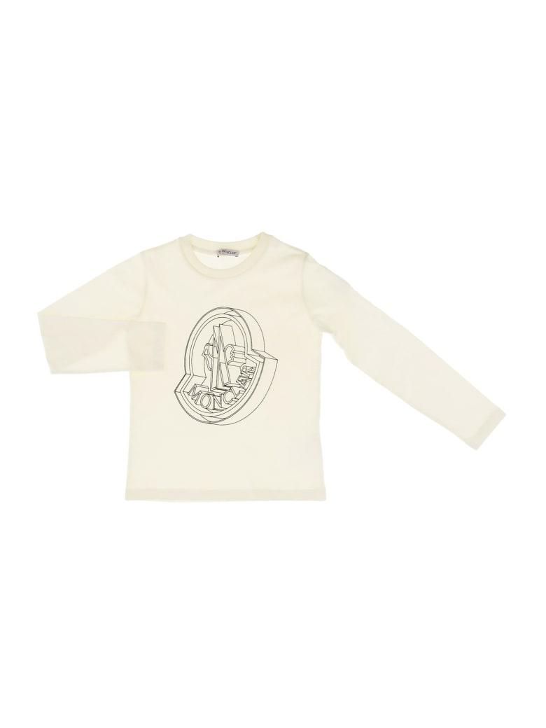 Moncler Maglia T-shirt - Bianco