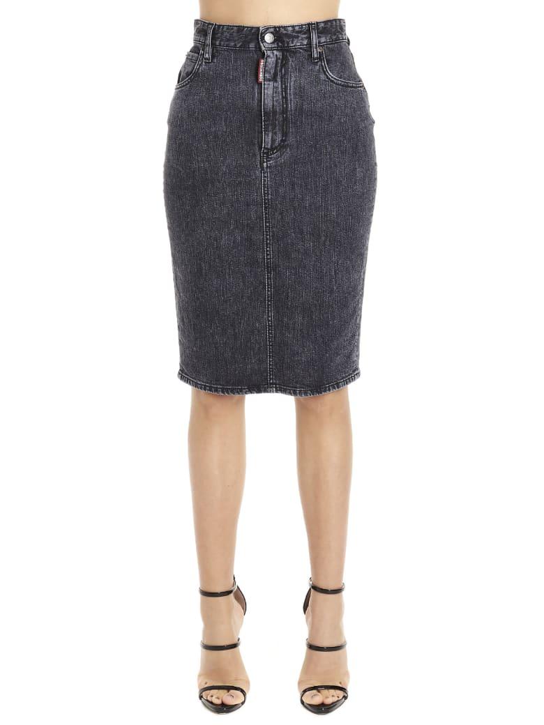 Dsquared2 'dalma' Skirt - Grey