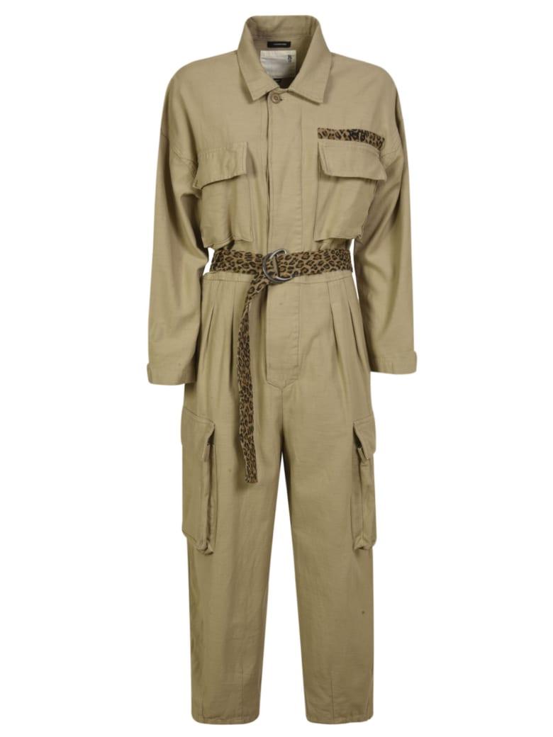 R13 Abu Jumpsuit - Khaki