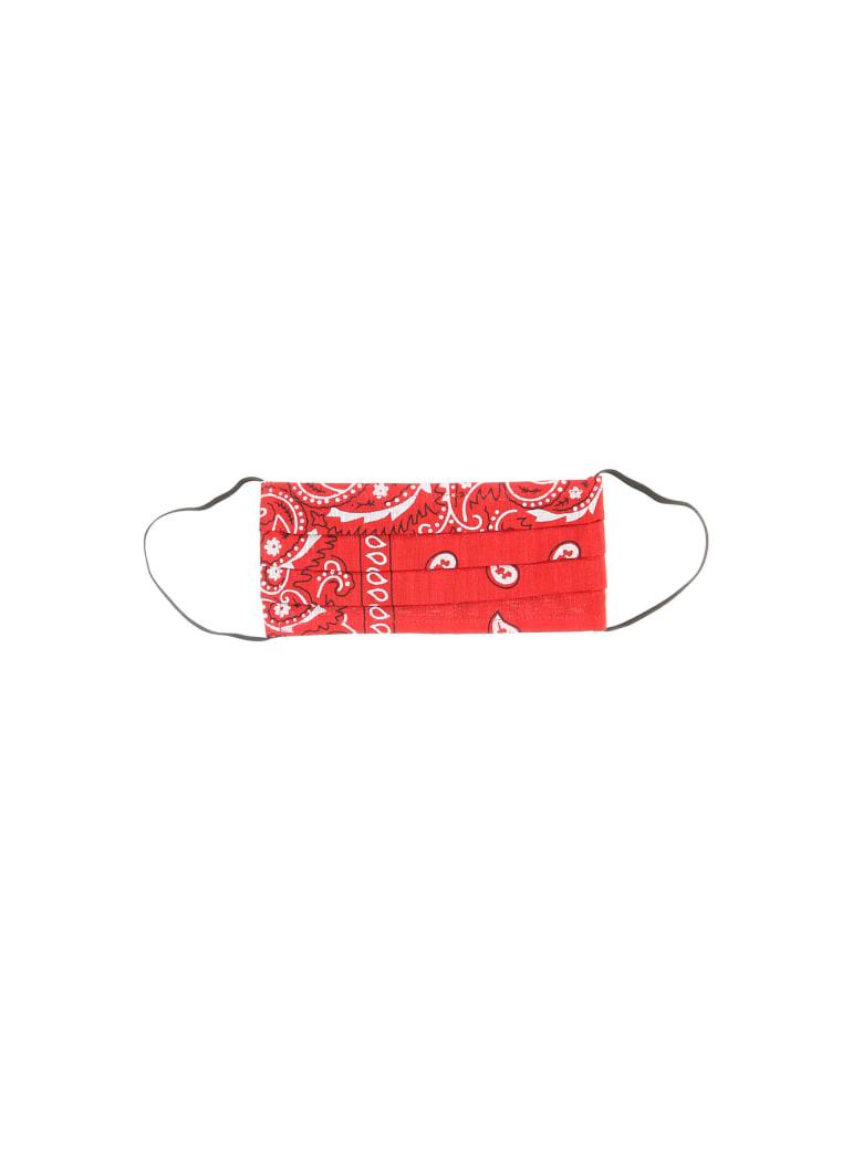 Arizona Love Bandana Print Face Mask - RED (Red)