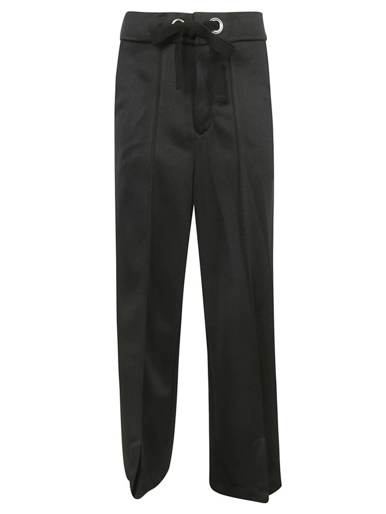 Zucca Drawstring Trousers - Black