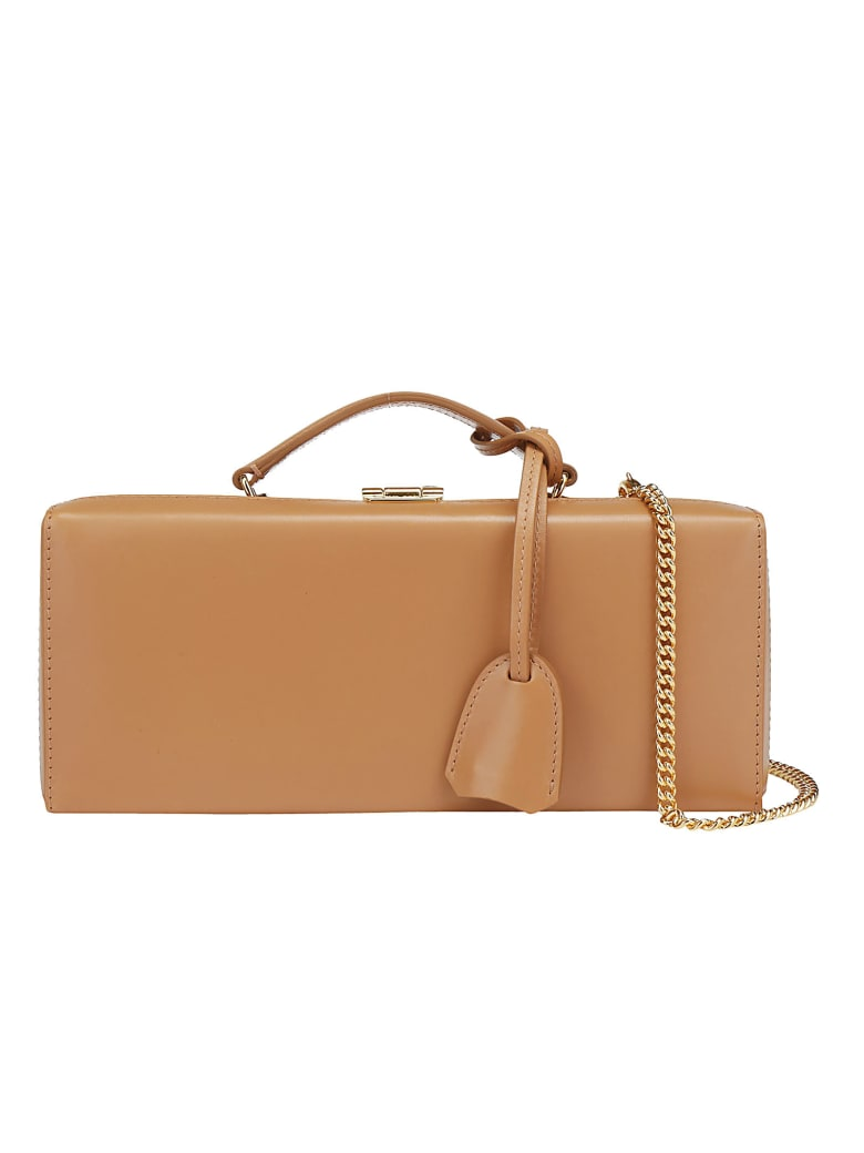 Mark Cross Grace Box Handbag - Beige