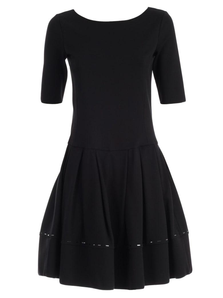 Emporio Armani Dress S/s A-line W/baguette - Nero