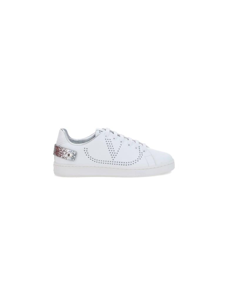 Valentino Garavani Backnet Sneakers - Bianco