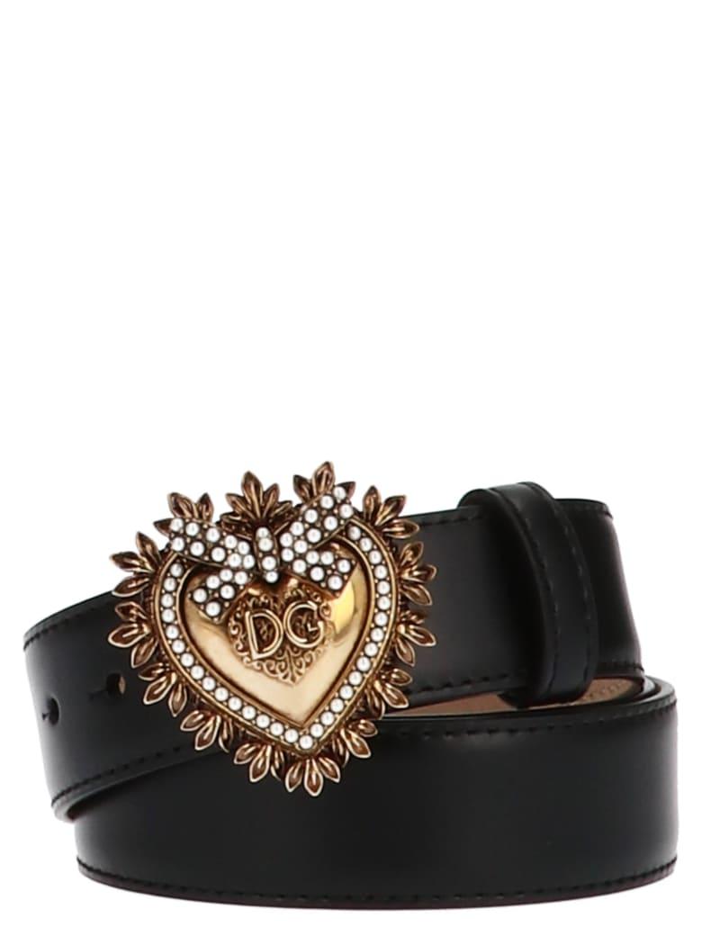 Dolce & Gabbana 'devotion' Belt - Black