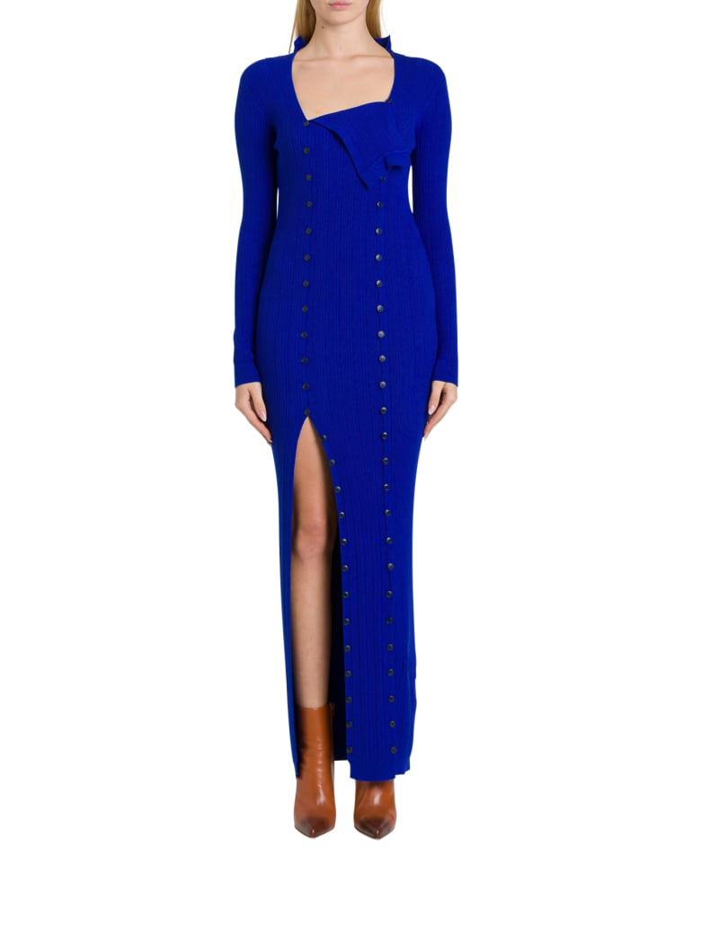 Jacquemus Le Robe Maille - Blu