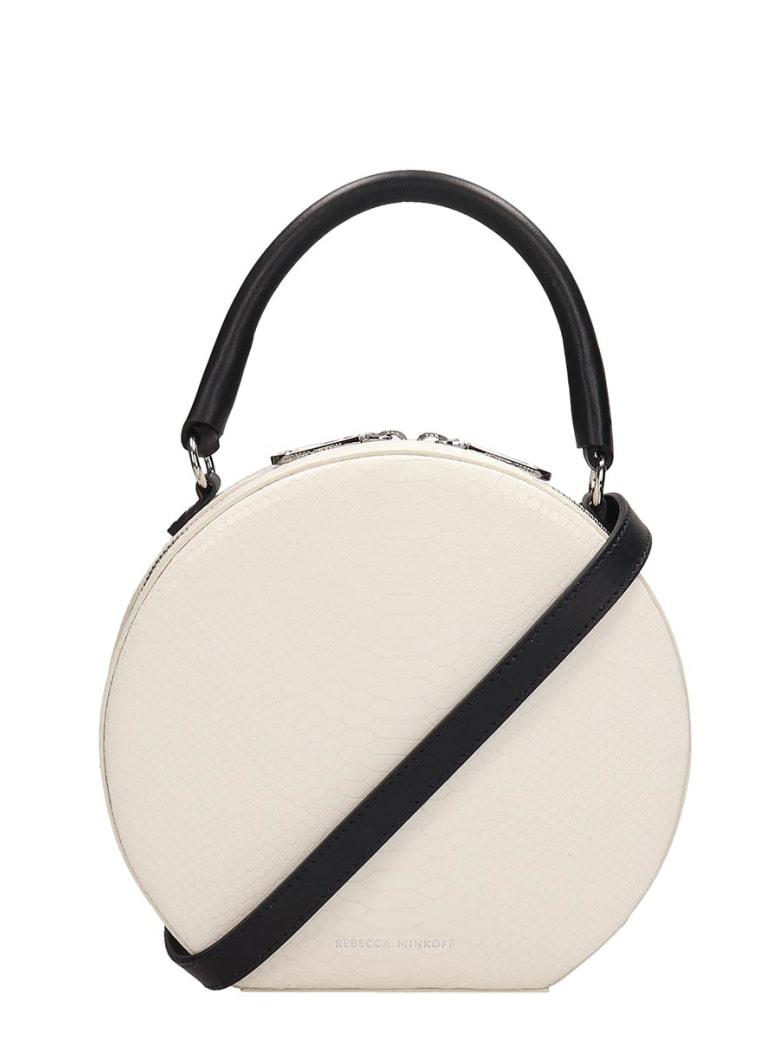 Rebecca Minkoff White Leather Bag - white