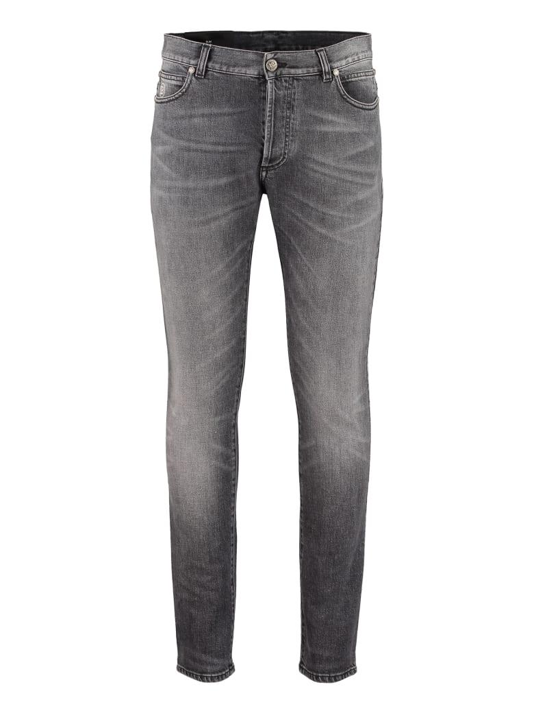 Balmain Slim Fit Jeans - grey