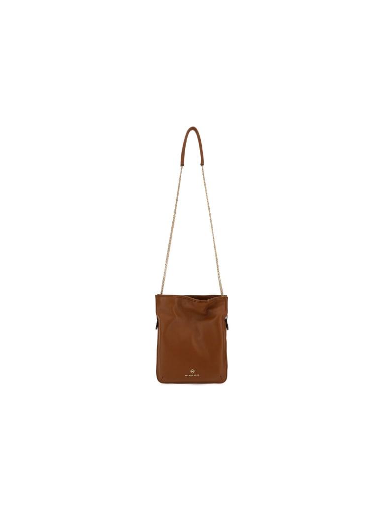 Michael Kors Medium Tati Shoulder Bag - Brown