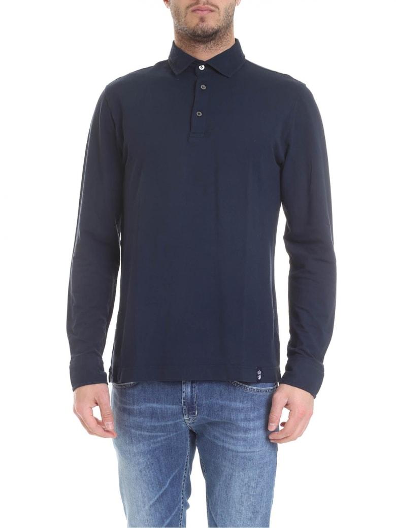Drumohr Polo Cotton - Blue