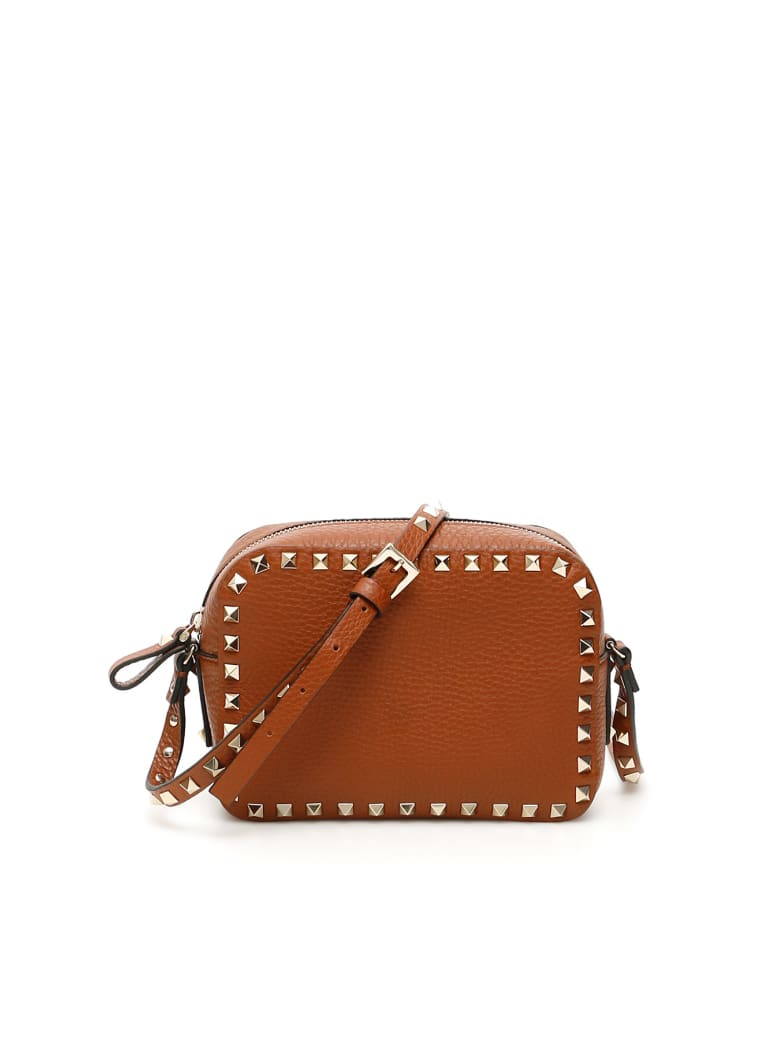 Valentino Garavani Rockstud Crossbody Bag - SELLERIA (Brown)