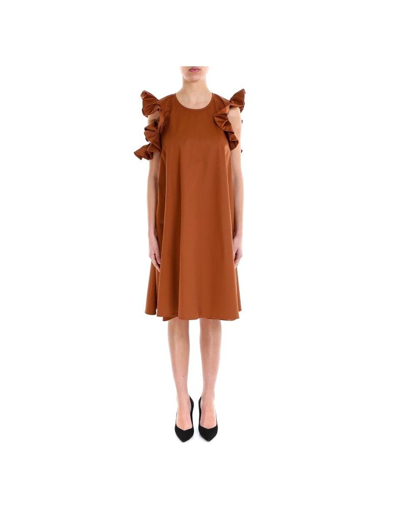 Lardini Ponto Dress - Brown