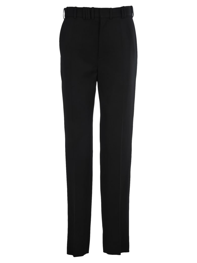 Y/Project High-waisted Tailored Trousers - BLACK