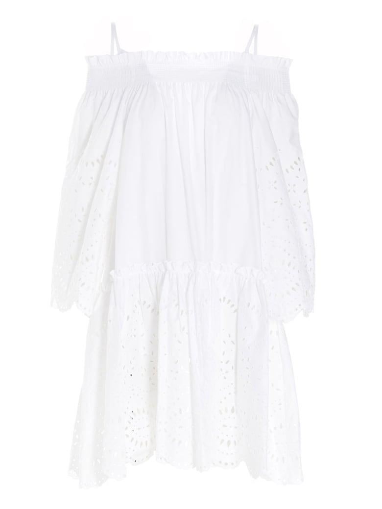 Parosh Dress - White