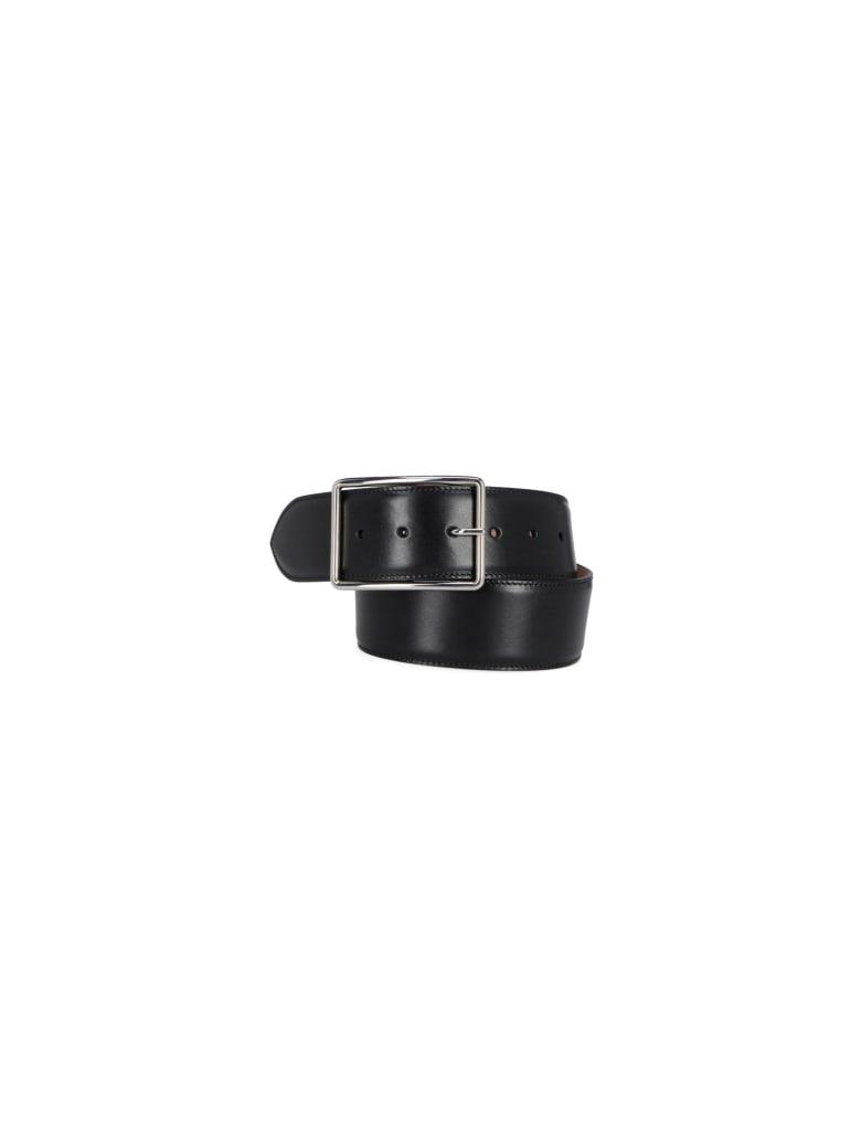 Alexander McQueen Buckle Belt - Black