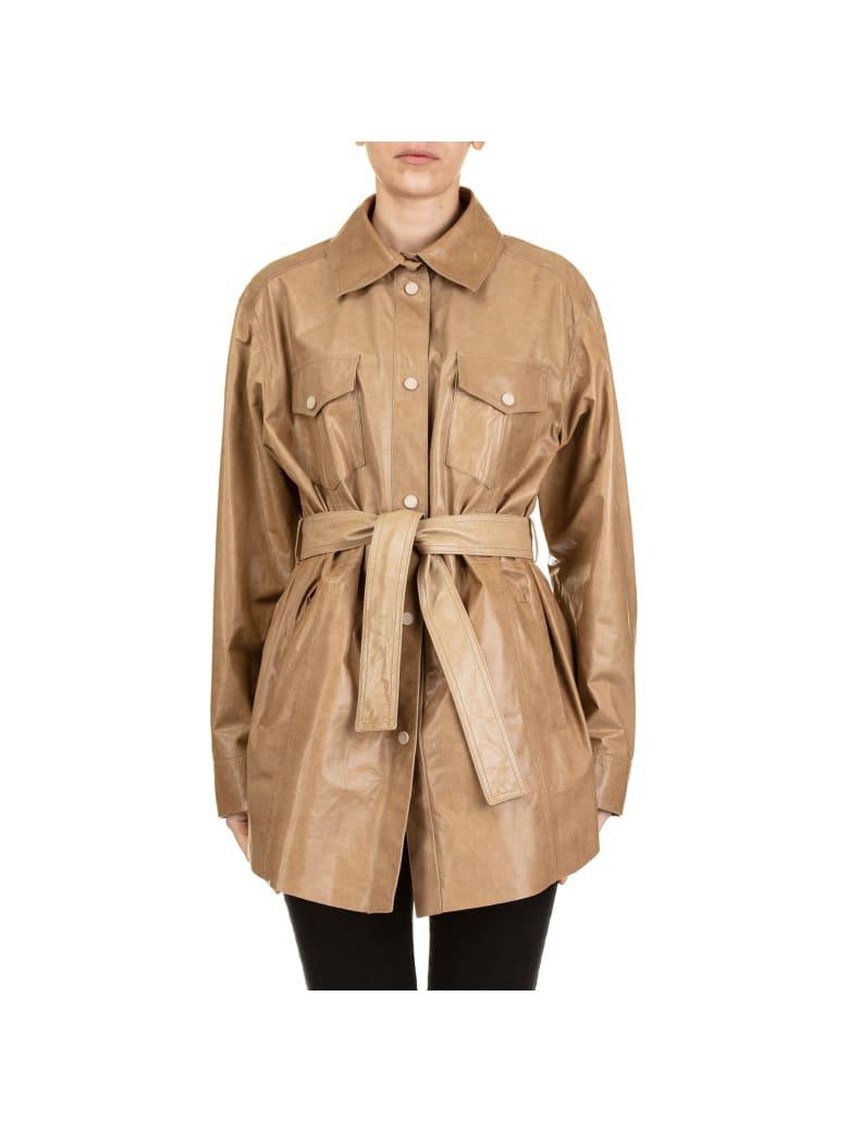 DROMe Leather Jacket - CAMEL