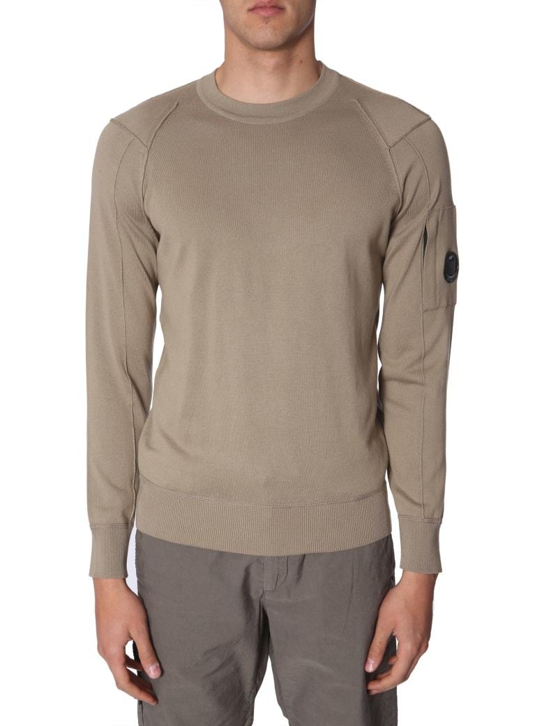 C.P. Company Crew Neck Sweater - BEIGE