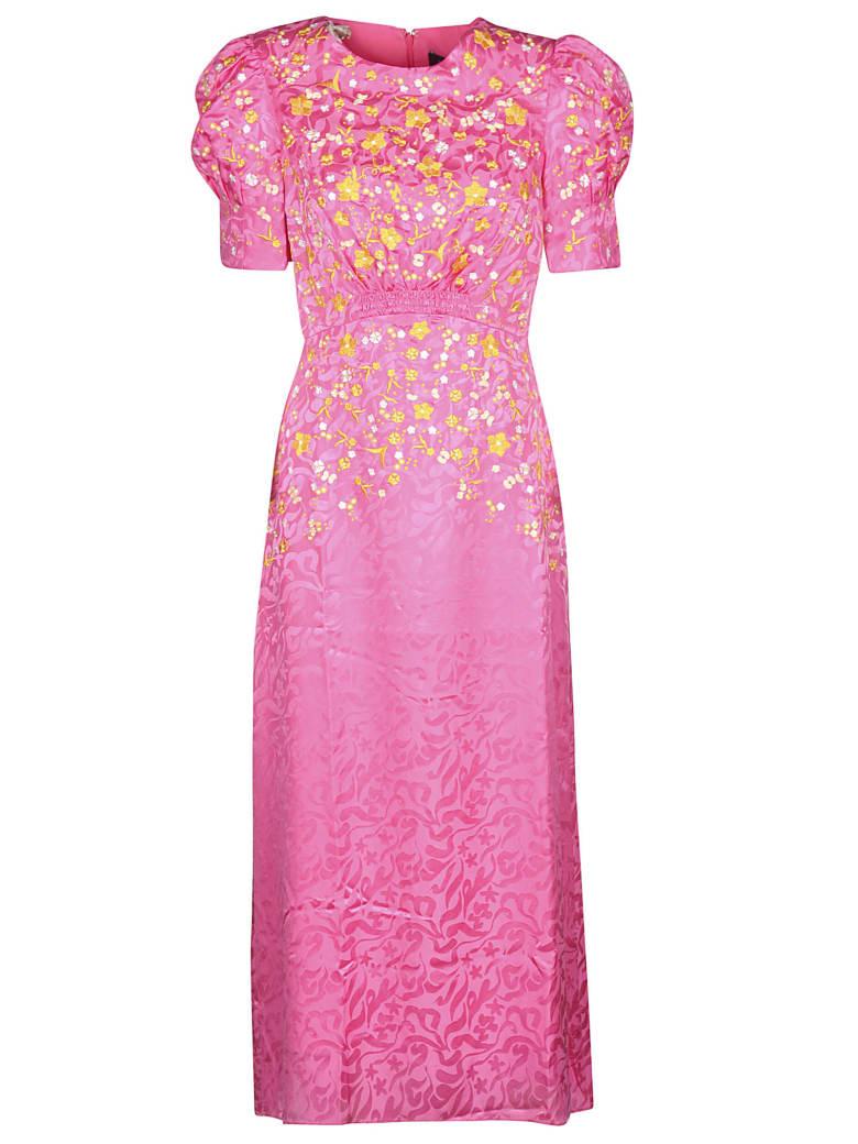 Saloni Bianca Dress - Pink