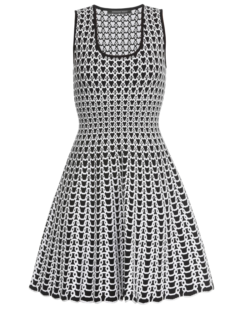 Antonino Valenti Dionisa Dress - black-white