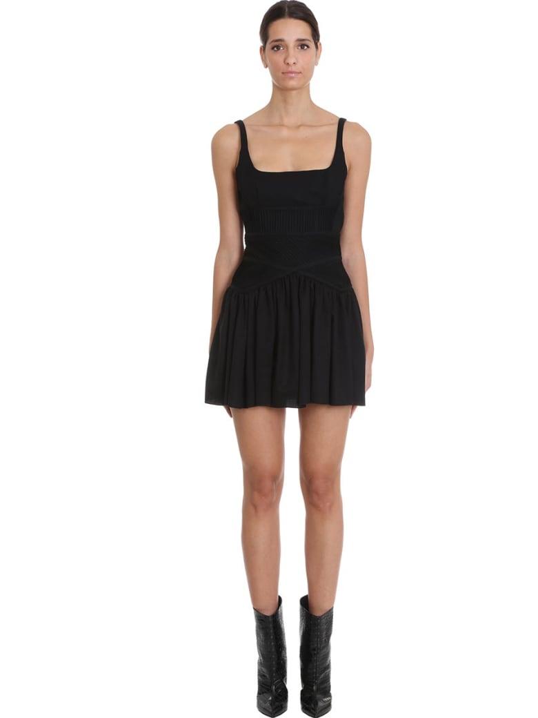 Giovanni Bedin Dress In Black Cotton - black