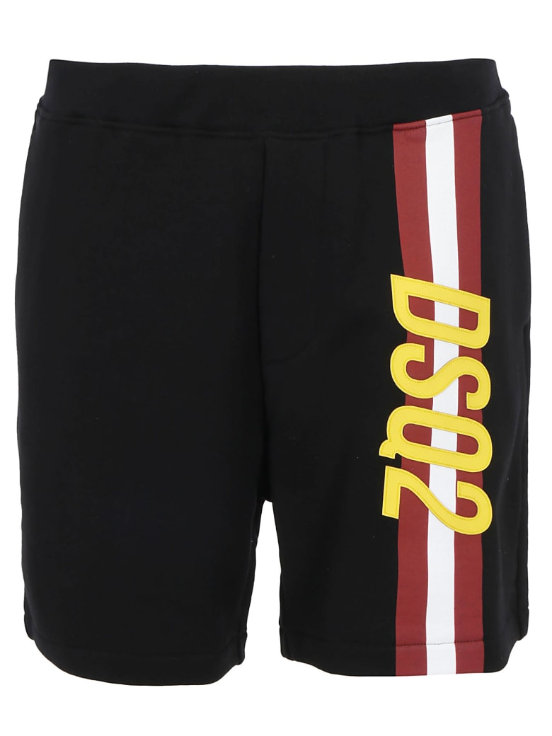 Dsquared2 Bermuda Pants - Black