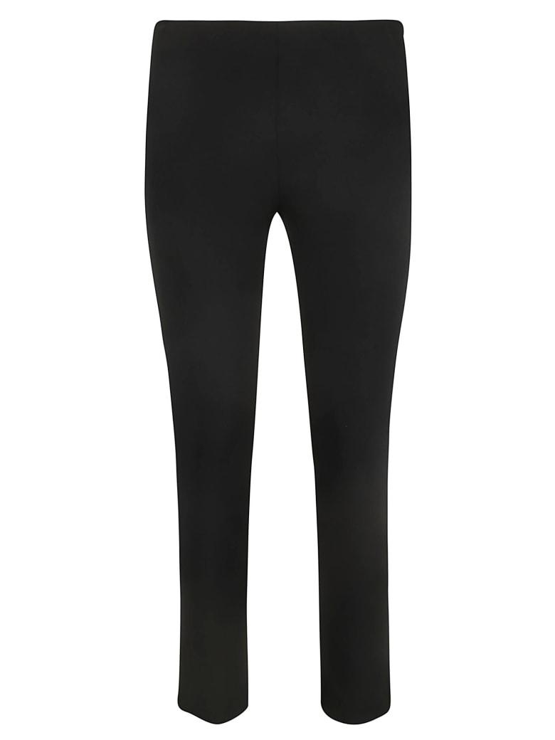 Veronica Beard Zip Back Scuba Trousers - Black