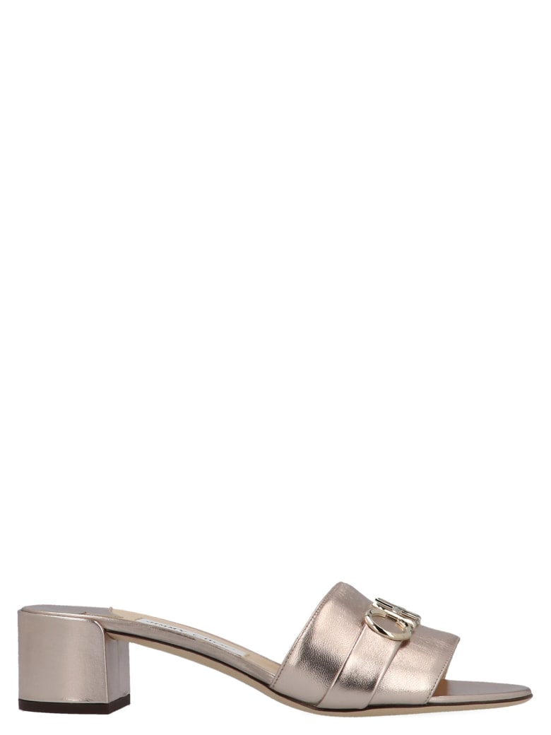 Jimmy Choo 'joni' Shoes - Silver