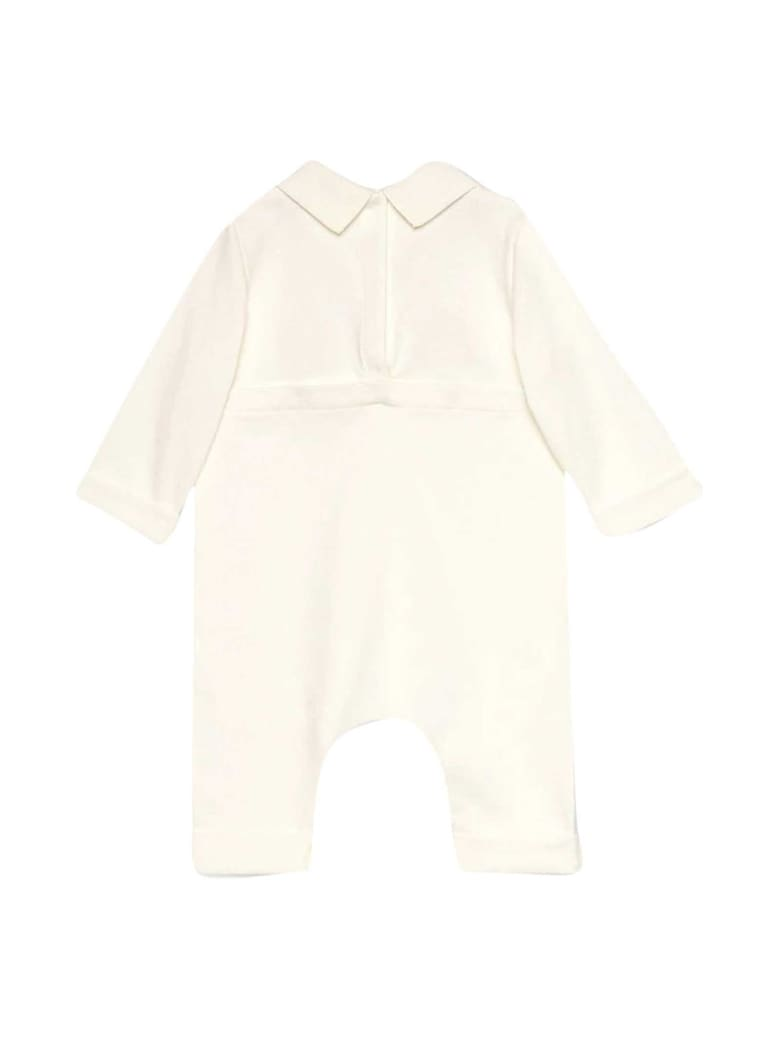 Gucci White Baby Set With Print - Latte