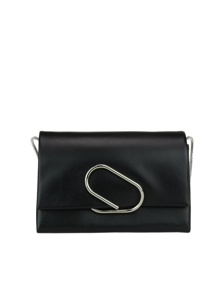 3.1 Phillip Lim Alyx Soft Flap Clutch - Black