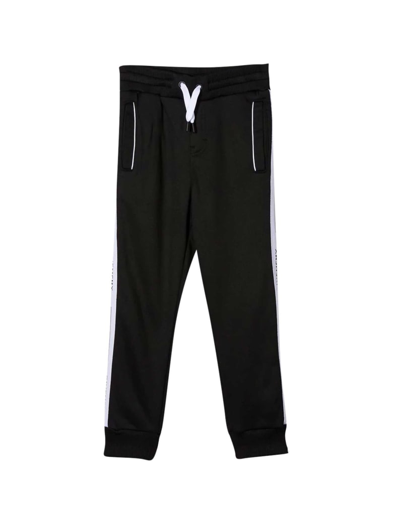 Givenchy Black Sporty Trousers - Nero