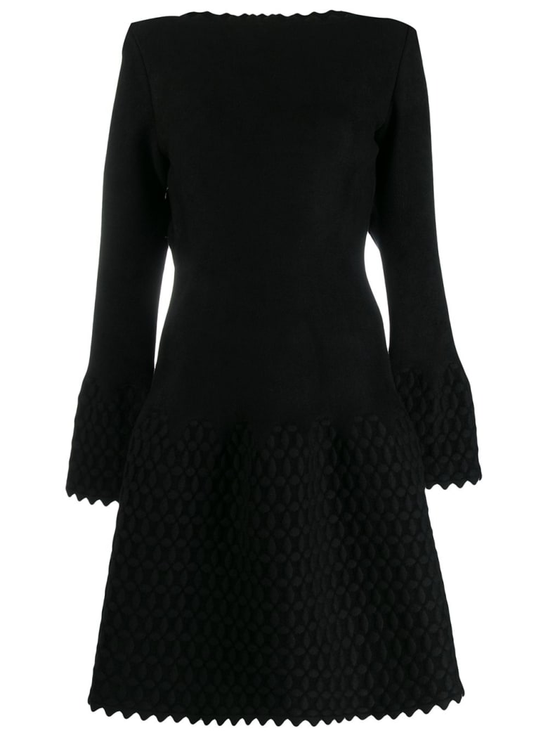 Alaia Dress Croisee - Noir