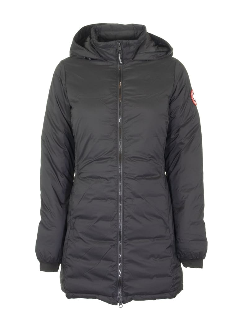 Canada Goose Camp Hooded Jacket Matte Finish Black - Black