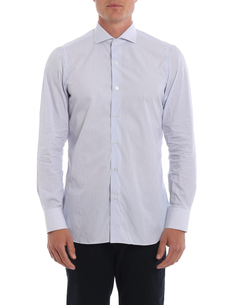 Finamore Cotton Shirt - White