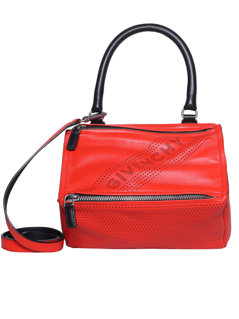 Givenchy Pandora Tote - Pop red