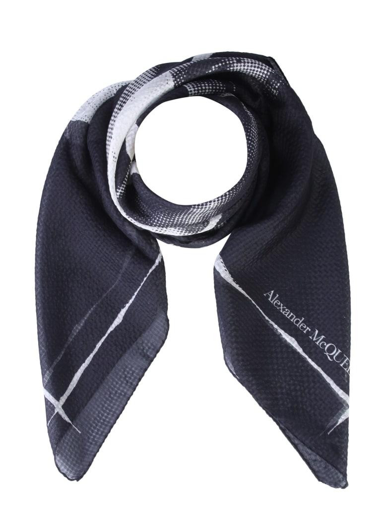 Alexander McQueen Silk Scarf - NERO