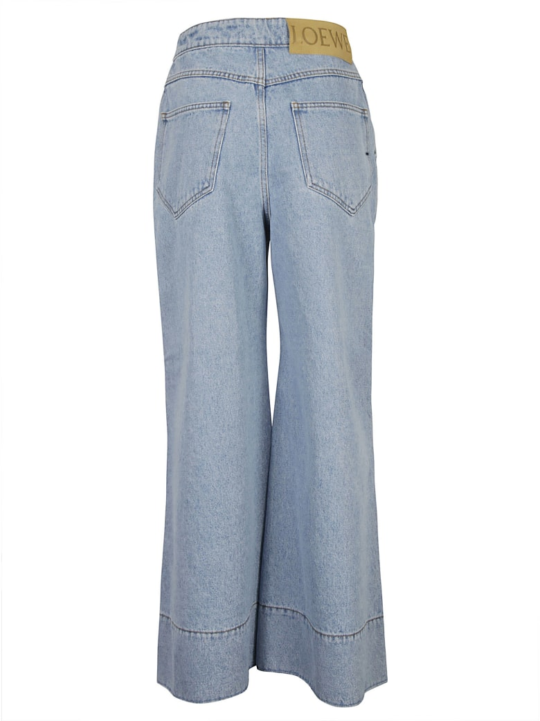 Loewe Flared Jeans - Light Blue